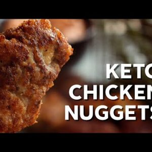 1-Min Recipe • How to make keto chicken nuggets