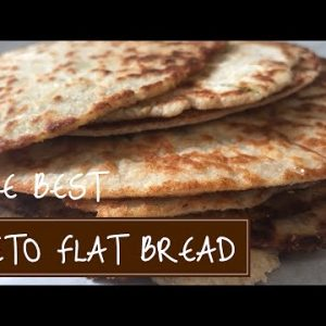The Best Keto Low Carb Flatbread Recipe!