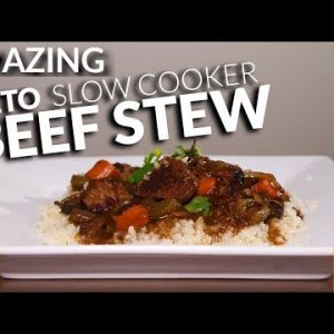 DELICIOUS Keto Slow Cooker Beef Stew Recipe | EASY Beef Stew Slow Cooker Keto | Keto Beef Stew
