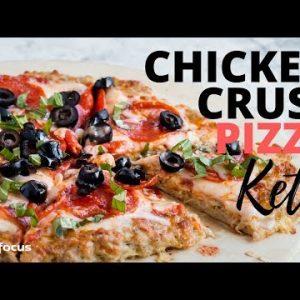 KETO CHICKEN CRUST PIZZA | EASY KETO CHICKEN DINNER RECIPE | EASIEST KETO PIZZA EVER!!