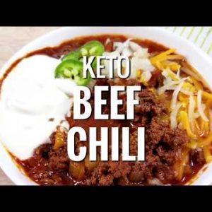 Healthy Instant Pot Keto Beef Chilli – NO BEANS!!!