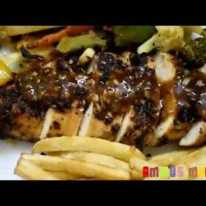Chicken steak recipe in malayalam|Chicken Sizzlers|Keto diet food|Chicken recipes