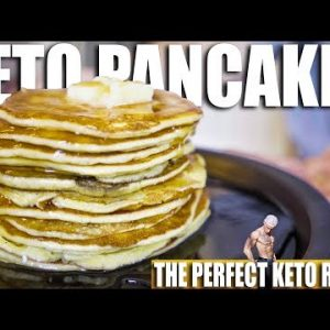 THE BEST KETO PANCAKES   4 Ingredient Ketogenic Diet Recipe   High Fat & High Protein