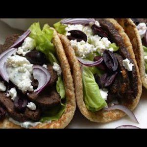 Keto Recipe – Beef and Lamb Gyros