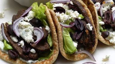 Keto Recipe – Beef and Lamb Gyros