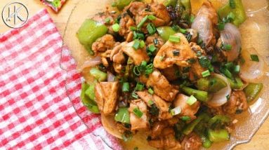 Chilli Chicken Dry (Indian Chinese Dish) | Keto Recipes | Headbanger's Kitchen
