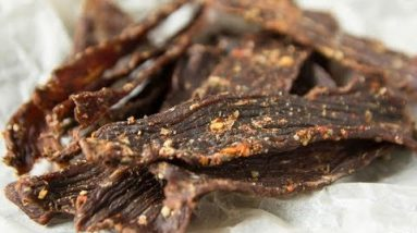 Keto Cajun Beef Jerky Homemade Low Carb Sugar Free Recipe