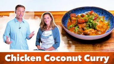 Keto Chicken Coconut Curry Recipe | Eric and Karen Berg