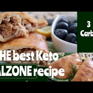Best Keto/low carb Calzone crust recipe- Keto in the Country