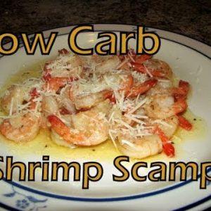 Atkins Diet Recipes:  Low Carb Shrimp Scampi (IF)