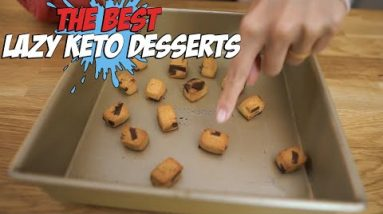 4 Lazy Keto Desserts You Can Make in 5 Minutes or Less!