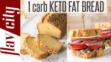 The Best Keto Fat Bread Recipe – Low Carb Bread For Sandwiches & More