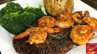 Steak And Shrimp Surf And Turf Recipe