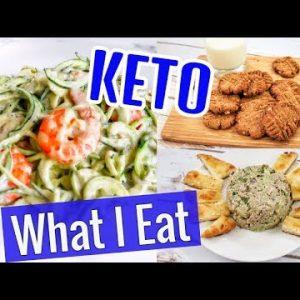 KETO DIET WEIGHT LOSS VLOG  | KETO CHEESE SHRIMP RECIPE
