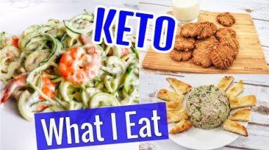 KETO DIET WEIGHT LOSS VLOG    KETO CHEESE SHRIMP RECIPE
