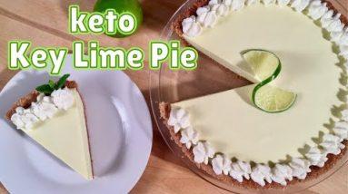 Keto Key Lime Pie – BEST Keto Dessert Recipe