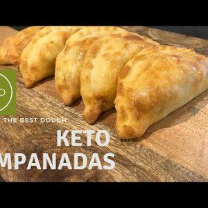 KETO  EMPANADAS  |  THE BEST FATHEAD KETO DOUGH