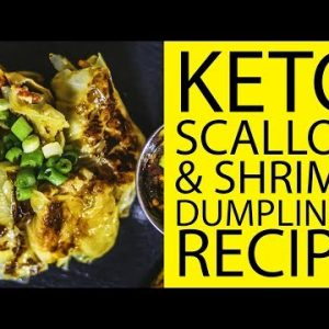 Keto Scallop & Shrimp Dumplings | Keto Recipes