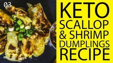 Keto Scallop & Shrimp Dumplings   Keto Recipes
