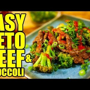 Keto Beef and Broccoli! Low Carb Recipe!