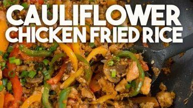 CAULIFLOWER Chicken FRIED RICE – KETO