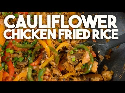 CAULIFLOWER Chicken FRIED RICE – KETO