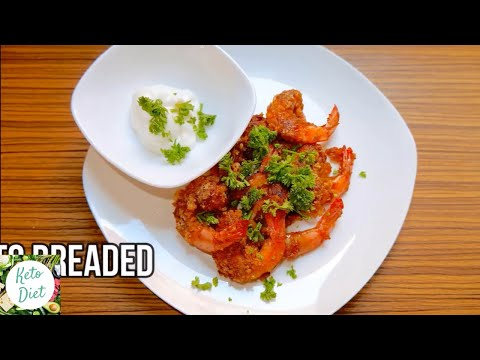 Keto Diet #74: Keto Breaded Shrimp Recipe