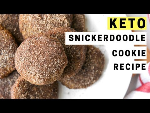 LOW CARB SNICKERDOODLE COOKIE RECIPE   BEST COOKIES FOR KETO   EASY KETO RECIPES