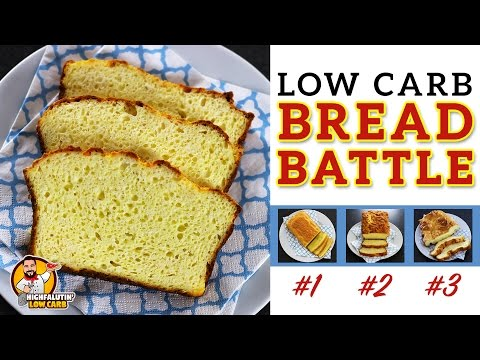 The BEST Low Carb Bread Recipe – EPIC BREAD BATTLE – Testing 3 Keto Bread Recipes