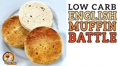 Low Carb ENGLISH MUFFIN Battle – The BEST Keto English Muffin Recipe!