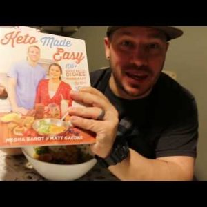 """Ketogenic Diet  – Spicy Shrimp Fried Rice  – Cooking 100 """"Keto Made Easy Recipes"""" KetoTrout #1"""