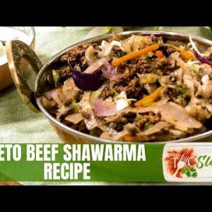 Keto Ground Beef Shawarma Recipe | Low Carb Recipe