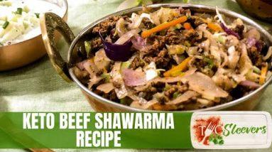 Keto Ground Beef Shawarma Recipe   Low Carb Recipe