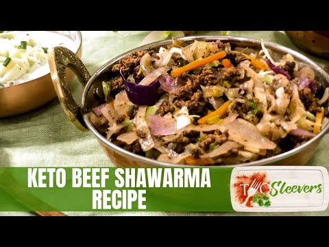 Keto Ground Beef Shawarma Recipe | Low Carb Recipe