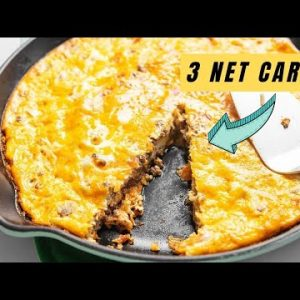 Keto Taco Pie – Perfect for Meal Prep!