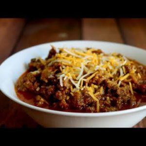 Keto Recipe – Low Carb Chili Con Carne