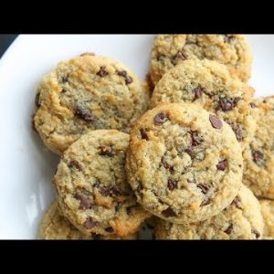 Best LOW CARB Chocolate Chip Cookie Recipe | Gluten Free, Dairy Free, Keto Cookies