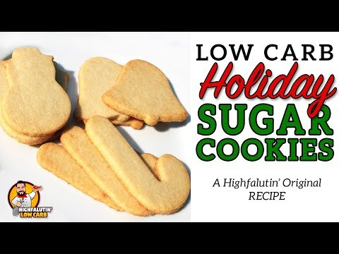 Low Carb SUGAR COOKIES – The BEST Keto Sugar Cookie Recipe!