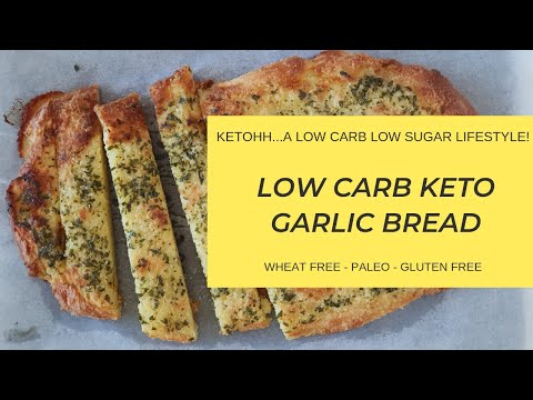 Low Carb Keto Garlic Bread | Ketohh | The Best Keto Garlic Bread Recipe and Easy to Make