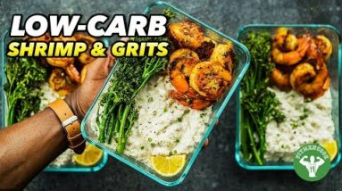 Low-Carb Shrimp & Grits Recipe – Soul Food Meal Prep