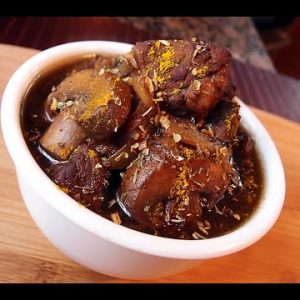 Keto Recipe – Coffee and Wine Beef Stew