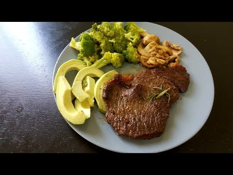 Beef steak recipe|Keto lunch/dinner|Healthy beef recipe