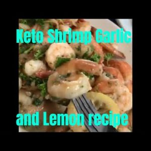 Keto Shrimp Garlic and Lemon Recipe | Youtube #shorts one-minute meal