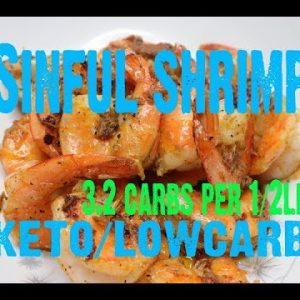 (KETO RECIPE) Loc's Sinful Shrimp Recipe (LOW CARB) Asian Style