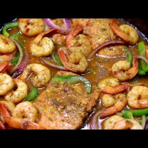 keto low carb coconut curry salmon and shrimp Recipe | MzBrooklyn Journey