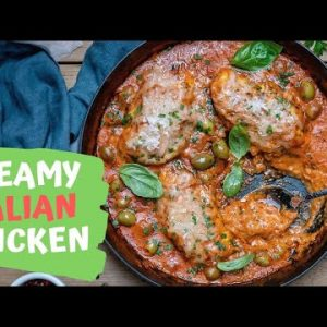 How To Make Italian Chicken In Tomato Sauce – Creamy Chicken In Tomato Sauce (Keto Recipe)