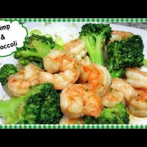 Chinese Shrimp and Broccoli Stir Fry with Garlic Sauce Recipe
