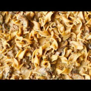 Best Keto Low Carb Beef Stroganoff Recipe #beefstroganoff #keto #lowcarb #ketoweightloss #booscruize