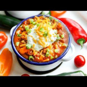Keto Chili Recipe | Easy Low Carb NO BEAN Chili For The Keto Diet