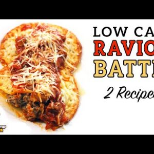 Low Carb RAVIOLI BATTLE – The BEST Keto Ravioli Recipe!